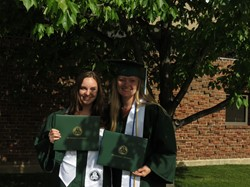 Binghamton University graduates from GMU