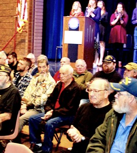Veterans' Breakfast honors service for country