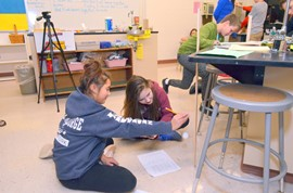 6th-Graders study gravitational pull