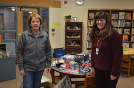 Sidney Elks' Club donates clothing, shoes, health products to GMU Backpack Program