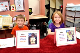 First-Graders Share Their Authored Works