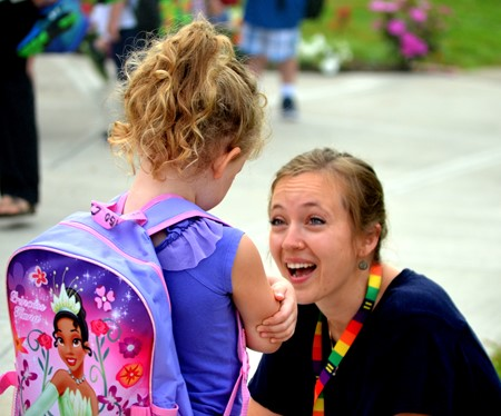 And... they're off! Teachers and staff at GMU welcomed the district's 400 students for the first day of school Wednesday. By 8:30 a.m. the morning's fog had cleared, and the students were hard at work on the 2018-19 school year!