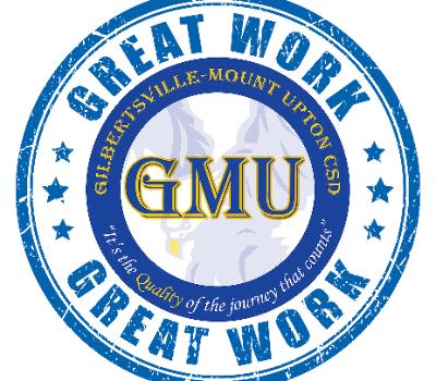 GMU logo with Great Work