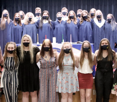 Eight inducted into National Honor Society