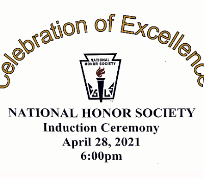National Honor Society inductions tonight!