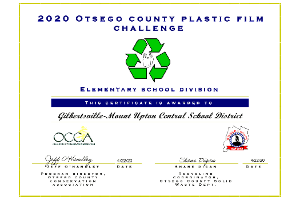 Recycling certificate (4/2020)