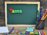 School Taxes: Collection information