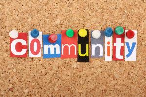 Community on bulletin board (7/2020)