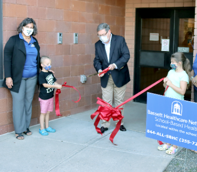 Ribbon-cutting highlights Open House