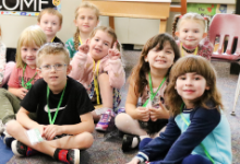 GMU offers Healthy Kids' childcare!