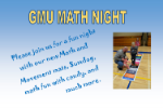 GMU to host Math Night on October 9