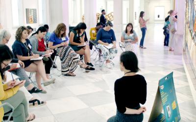 Teachers at Art Institute 2019