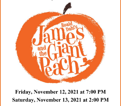 James and the Giant Peach Flyer (10/2021)
