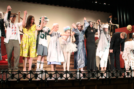 The Addams Family performers 2019