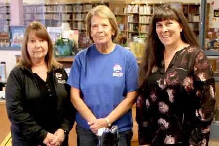 Marge Johnson, Sharon Harris, Raquel Norton 2019