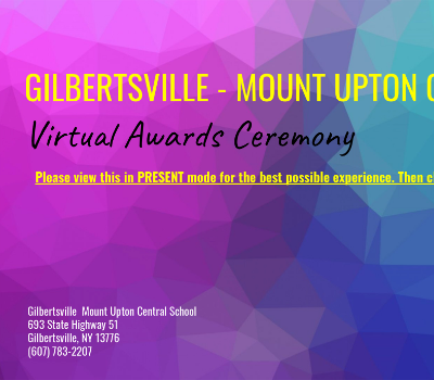 GMU Virtual Awards Ceremony illustration (12/2020)