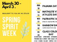 Show Your School Spirit!
