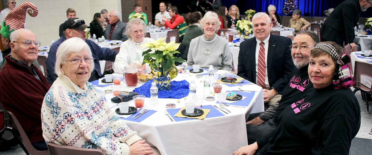 GMU Senior Citizen annual holiday luncheon (December 2020)