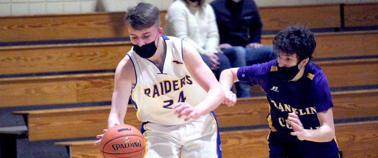 Basketball action