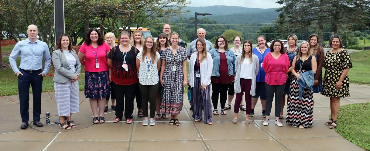 New GMU staff members (8/2021)